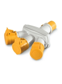 Adaptor Multiplu 16A 3P+E IP66