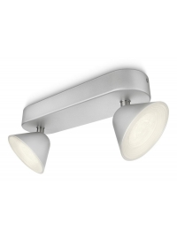 Tweed bara/tub LED aluminiu 2x4W S