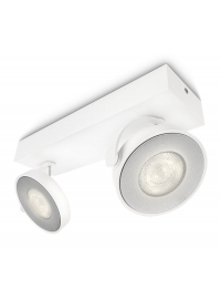 Clockwork bara/tub LED alb 2x5W