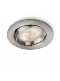 Ellipse recessed LED nickel 1x4W SE