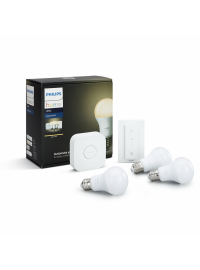 Starter Kit Philips Hue 9.5W E27 White A60