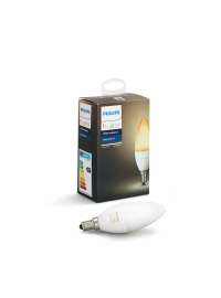 Bec LED Philips Hue 6W E14 B39 White Ambiance