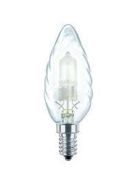 Lampa cu halogen EcoClassic 28W E14 230V BW35 CL