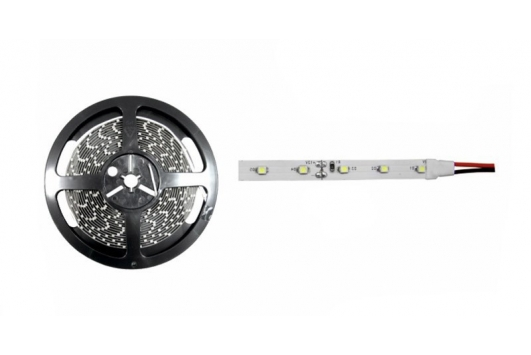 Banda 4.8W/60LED, 12Vdc,IP20, Lumina calda