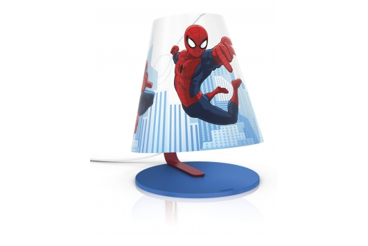 Spider-Man table lamp blue 1x3W SELV