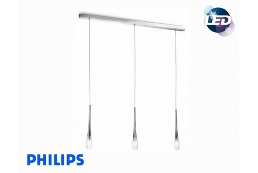 Lampa suspendata Jazz LED Crom 3x5W