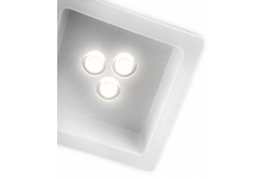 Nomia recessed LED white 1x