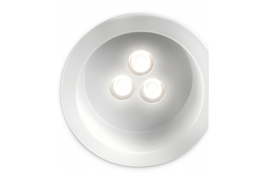 Nomia recessed LED white 1x  SELV