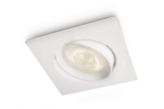 Galileo recessed LED white 1x4W SEL