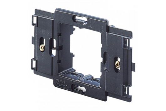 System/Virna 2-gang plate support