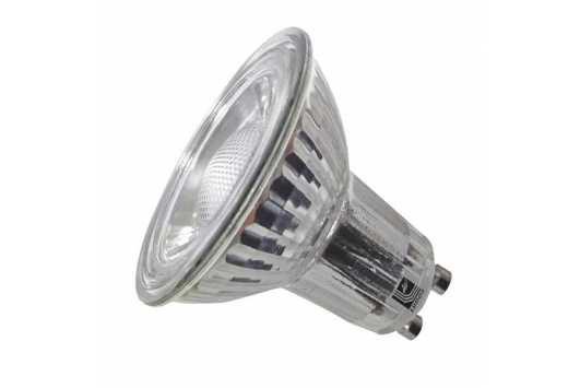 Bec Power LED GU10, 230V, 1LED, cree/5W Alb cald