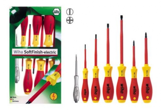 Set de surubelnite izolate SoftFinish, plate/Phillips, 7 buc.