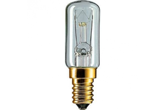 Bec tubular incandescent Deco 7W E14 230-240V T17 CL 1CT/10X10F