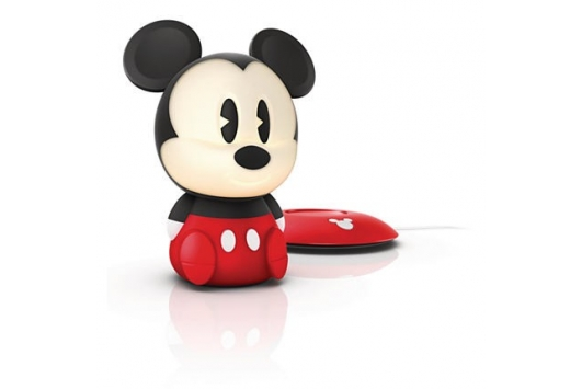 Mickey table lamp LED black 1x1W SE