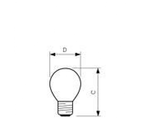 Lampa NightLight 11W E27 220-250V P45 FR NL 1CT