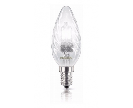 Lampa cu halogen EcoClassic 18W E14 230V BW35 CL